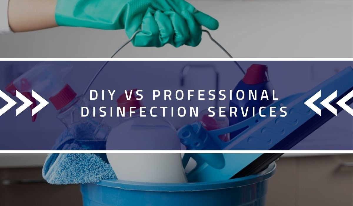 DIY vs Professional Disinfection Services