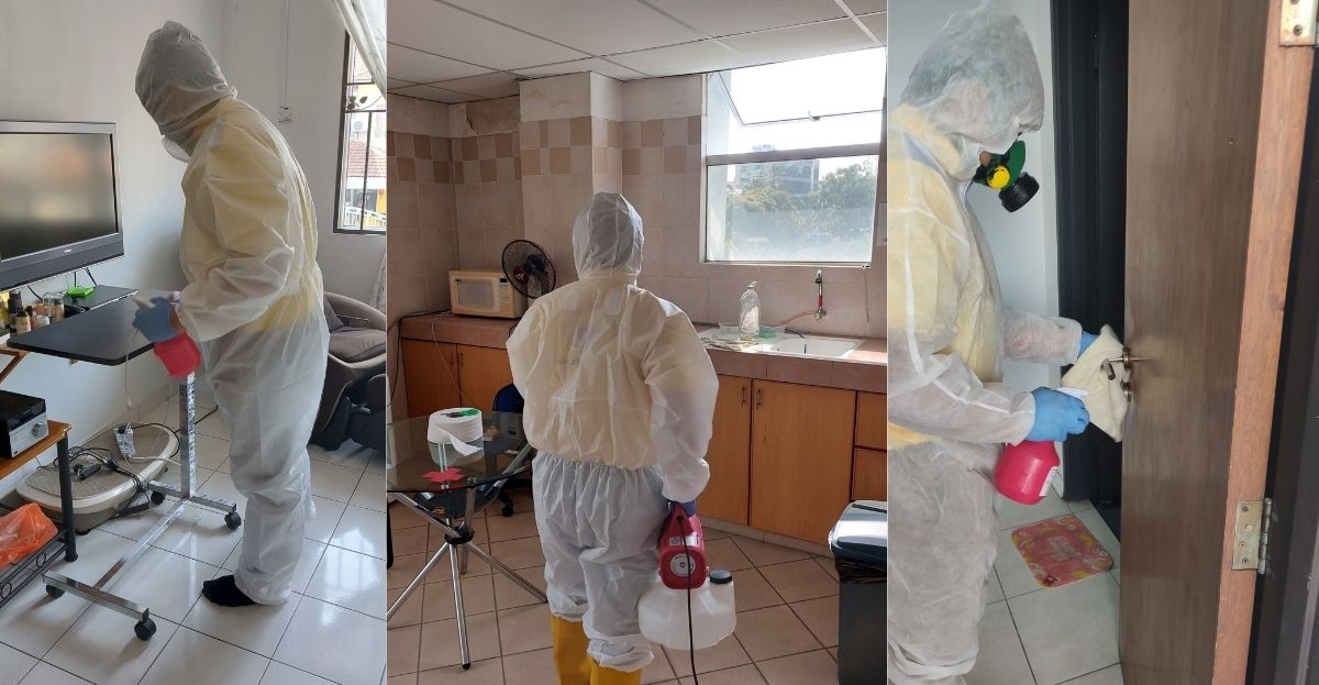 Residential Disinfection Services